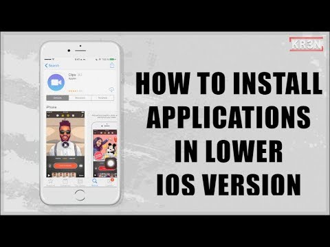 How to install applications in lower iOS version - iOS 10.2 - LowerInstall - Jailbreak