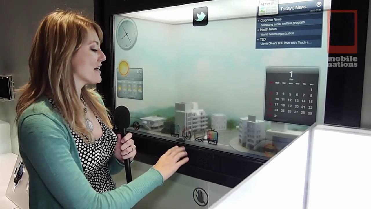 CES - Samsung's Smart Window