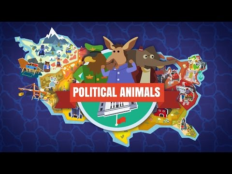 Hawk For President! Part 1  Let's Play Political Animals Gameplay