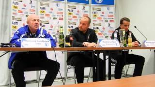 Pressekonferenz - 1. FC Magdeburg - Germania Halberstadt 1:1 (0:1) - www.sportfotos-md.de
