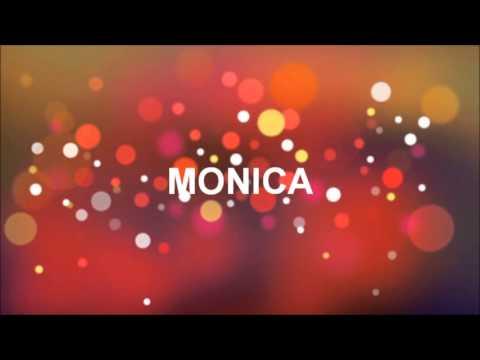 grattis monica GRATTIS PÅ FÖDELSEDAGEN MONICA   YouTube grattis monica