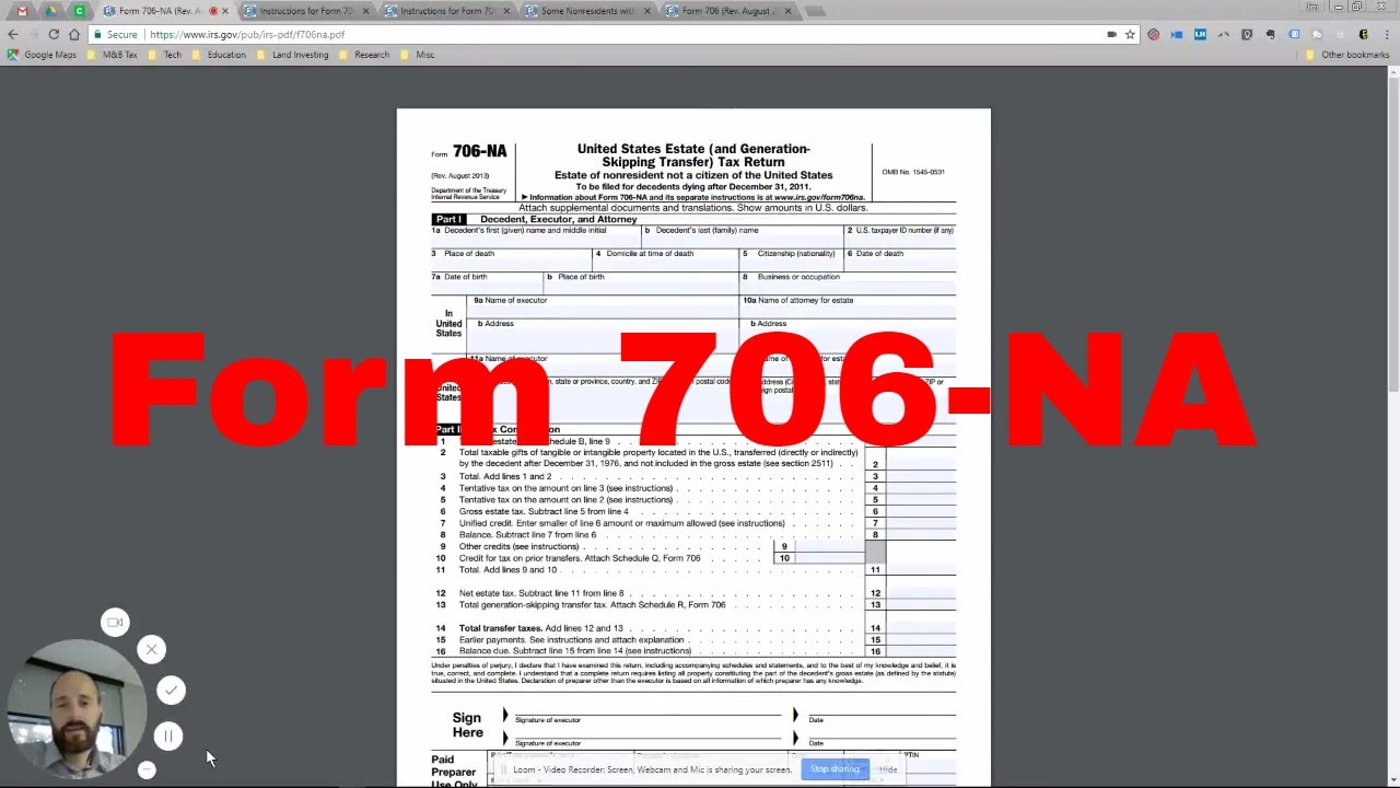 How to complete form 706 na estate taxes for us non residents how to complete form 706 na estate taxes for us non residents falaconquin