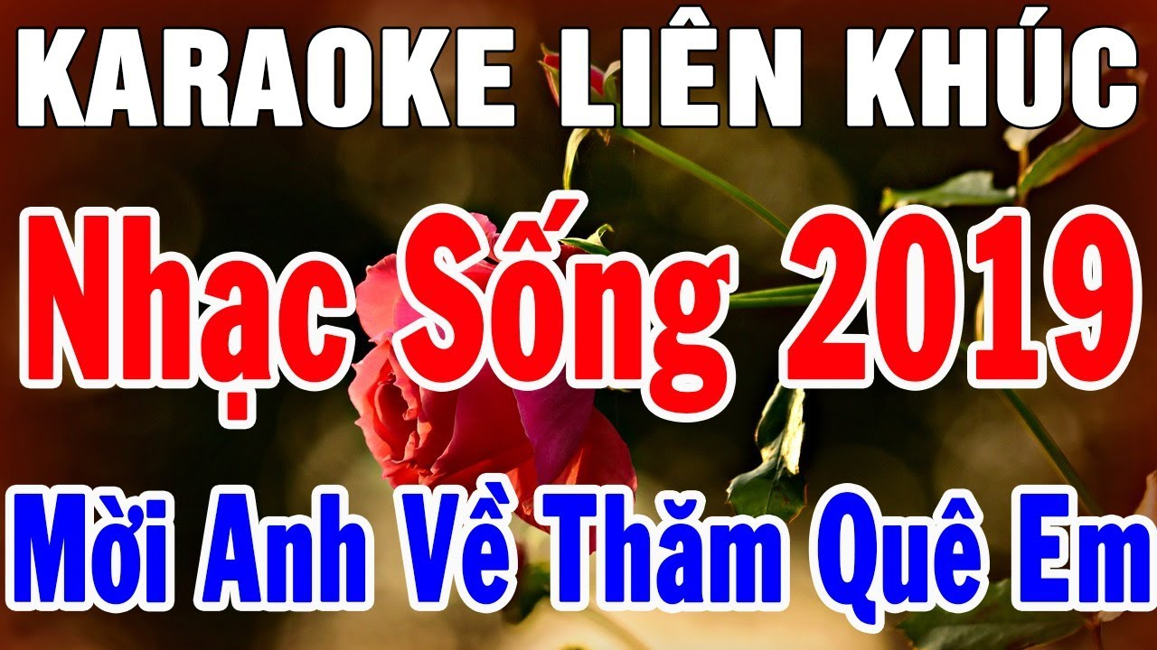 Karaoke Liên Khúc Nhạc Sống Thôn Quê 2019 Hay Nhất   Hòa Tấu Mời Anh Về Thăm Quê Em   Trọng Hiếu