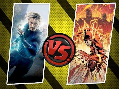 Flash vs Quicksilver ¿Quién es más rápido? y ¿Mejor?