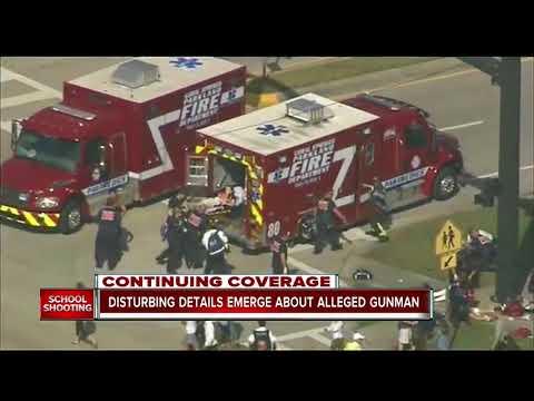 Disturbing details emerge about alleged south Florida school shooter, Nikolas Cruz