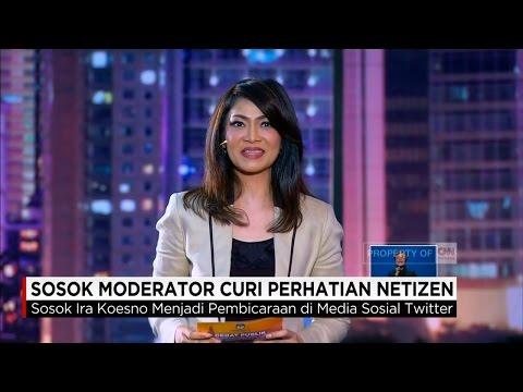 Ira Koesno, Moderator Debat Pilkada DKI Jakarta, Curi Perhatian