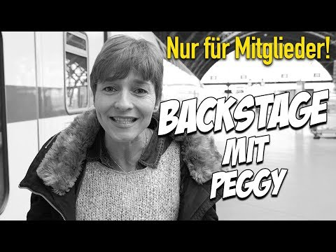 50.000 Abonnenten Special - Backstage mit Peggy