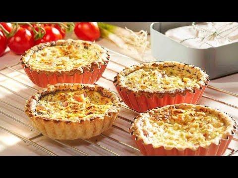 recette-tartelettes-au-fromage-de-chèvre,-aux-tomates-et-graines-de-pavot-–-colruyt