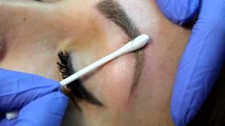 Перманентный макияж бровей (волосковая техника) , мастер Оника Елена https://vk.com/ellentattoo