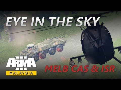 ArmA Malaysia - Eye in the Sky (AH-6 CAS & ISR)