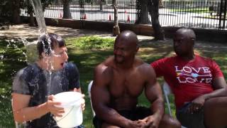 brooklyn nine nine ice bucket challenge