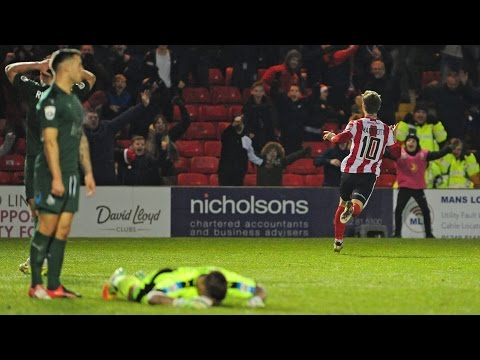 Lincoln City 2 Tranmere Rovers 1 (2016/17) - Goals