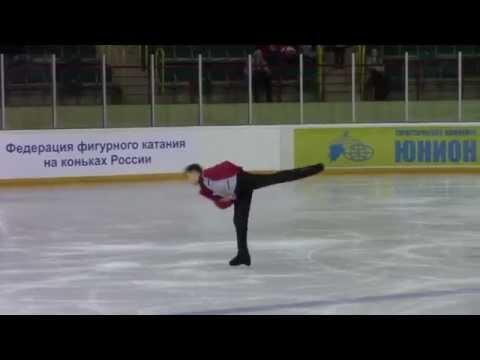 Rostelecom Crystal Skate 2015  Men, Juniors КП 6 Vladislav KATICHEV RUS