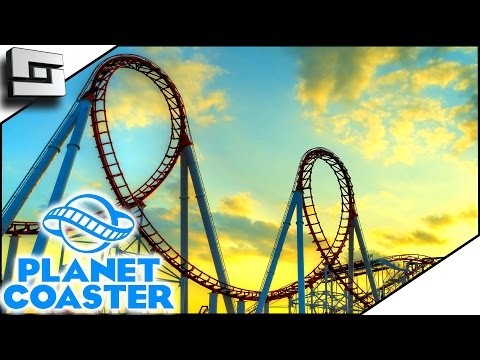 NEW COASTER! - Planet Coaster Gameplay #3 | Sl1pg8r