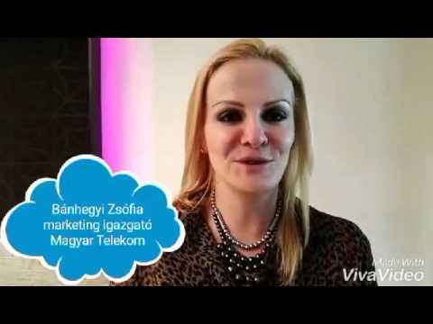 Bánhegyi Zsófia a Magyar Telekom marketing igazgatója is szurkolásra buzdít