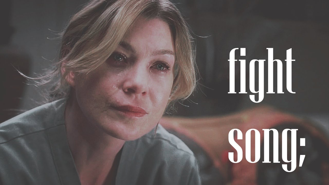 meredith grey | fight song - YouTube