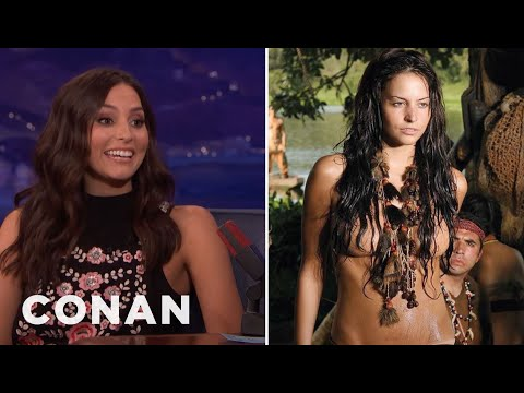Génesis Rodríguez On How To Survive A Telenovela  - CONAN on TBS