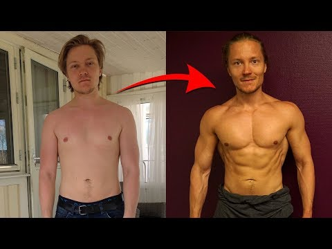 How to Go From Skinny Fat to Ripped The Step by Step Process (My Transformation)