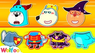 Wolfoo Kids Stories About Prince and Princess #2 - Kids Pretend Play   Wolfoo Family Kids Cartoon