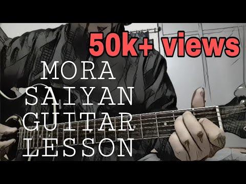 Mora saiyan chords and rhythm tutorial