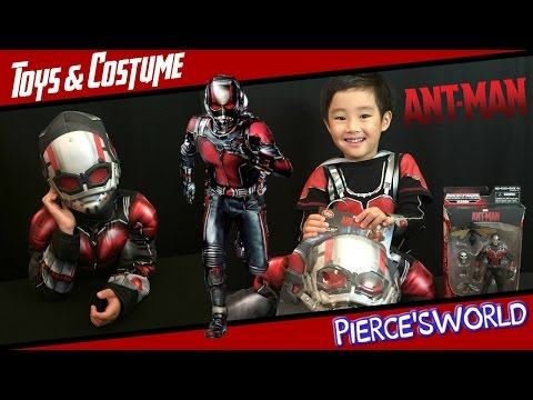 Marvel ANT-MAN: Toy, Costume, and Movie Review - Pierce'sWorld poster