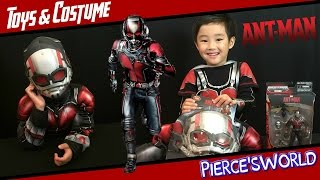 Marvel ANT-MAN: Toy, Costume, and Movie Review - Pierce'sWorld
