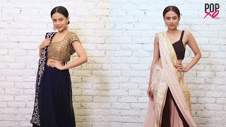 Different Ways To Drape Saree For Farewell Or Weddings | Indian Wedding Outfits - POPxo