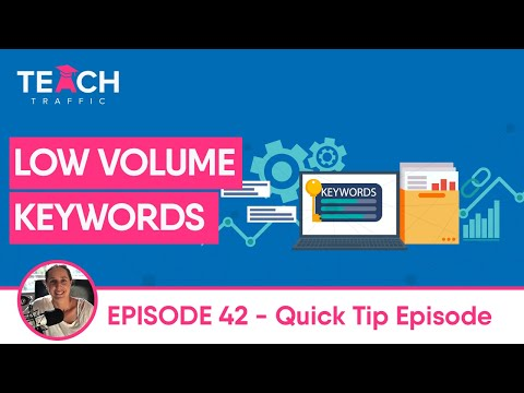 What To Do When Your Google Keywords Are Have Low Search Volume