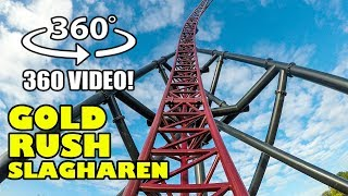 VR 360 Gold Rush Roller Coaster POV Slagharen Netherlands