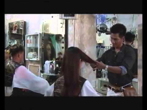 Hướng dẫn uốn setting phục hồi tóc hư tổn.