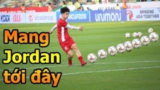 Thử Thách Bóng Đá Asian Cup 2019 đi xem Công Phượng Đặng Văn Lâm Bùi Tiến Dũng ĐT Việt Nam Jordan