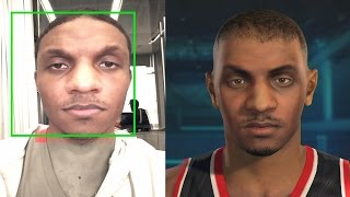 NBA 2K15 PS4 My Career - Opening Scene u0026 Face Scan!