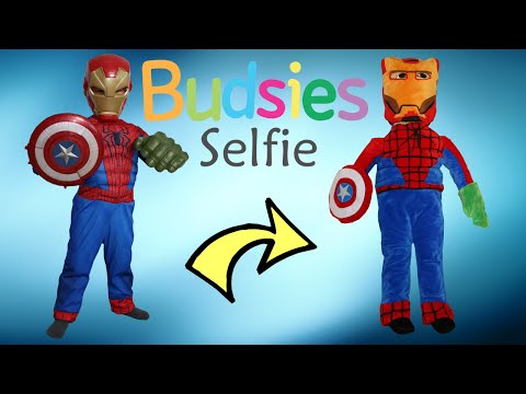 Thumbnail: Budsies Selfie Superhero Mash-Up Unboxing Huggable Kids Plush Toys With Superman Ckn Toys