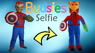 Budsies Selfie Superhero Mash-Up Unboxing Huggable Kids Plush Toys With Superman Ckn Toys