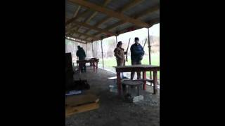 Black powder range at gopher rifle and revolver club