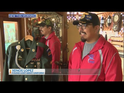 None - TMSG - Veteran finds uniform in an unlikely place