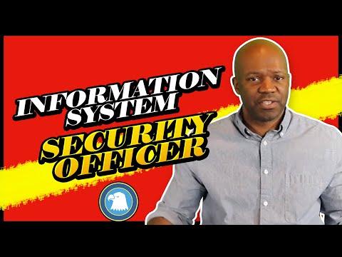 Information system security officer