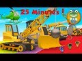 Ryan The Wrecking Ball Crane And Lots More Construction Trucks | Gecko's Garage video