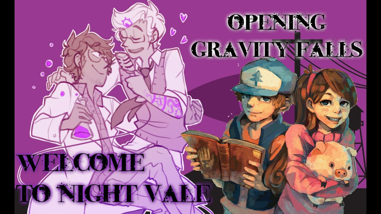 Night Vale Gravity Falls Wallpaper Welcome To Night Vale Gravity Falls Opening Youtube