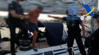 Macrogolpe al tráfico de drogas con intervención de 35 toneladas de hachís