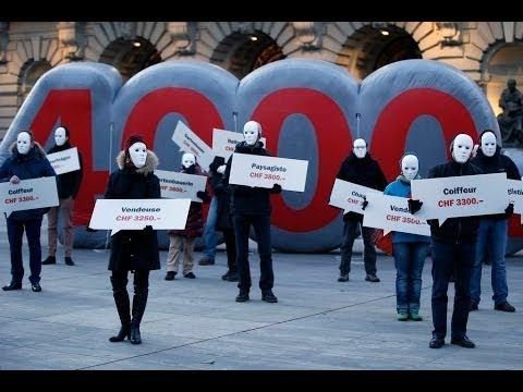 Focus - Le Salaire Minimum à 4000 Francs Divise Les Suisses