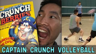 Captain Crunch Volleyball (11/29/18 open gym volleyball)
