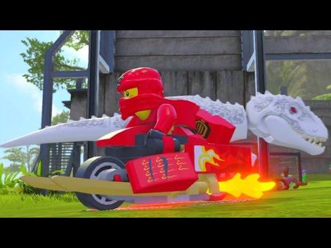 LEGO Dimensions - Kai's Blade Bike Upgraded - All 3 Versions (Vehicle Showcase)