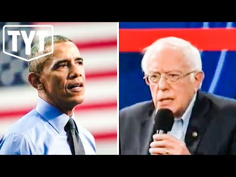 "Bernie Responds To Obama's ""Too Far Left"" Comments"
