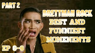 Brettman Rock | Escape The Night Allstars S4 | Part 2 Best and Funniest moments
