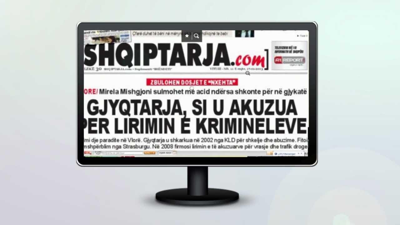 gazeta shqiptarjacom online
