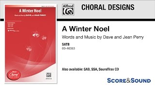 Download A Winter Noel, by Dave and Jean Perry – Score & Sound MP3 song and Music Video