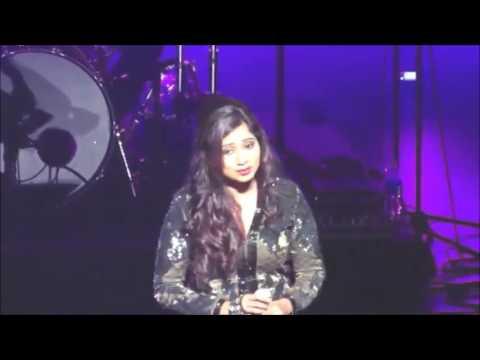 Teri meri prem kahani live by Shreya Ghoshal