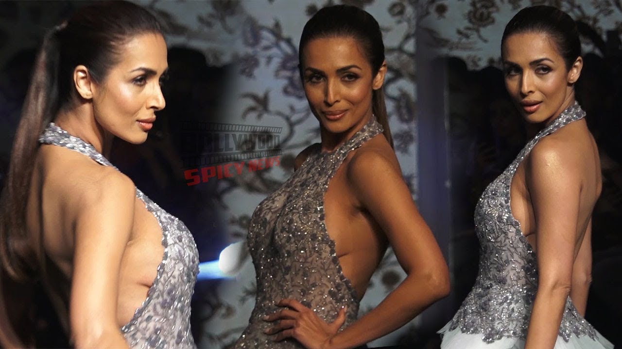 Malaika Arora Walks Ramp For Designer Manoj Agarwal | Lakme Fashion Week 2019