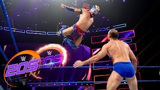Kalisto vs. Oney Lorcan: WWE 205 Live, April 2, 2019